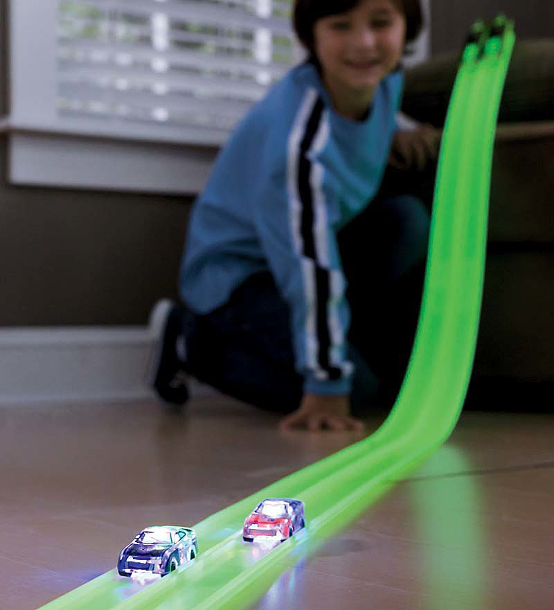 Glow-in-the-Dark Racetrack