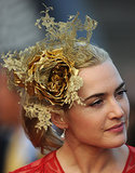 Who knew that Kate was such a fan of fascinators? She wore this beauty to the Hong Kong International Races in 2012.