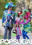 Alyson Hannigan and Alexis Denisof took their kids, Satyana and Keeva, trick-or-treating in LA on Halloween last year.