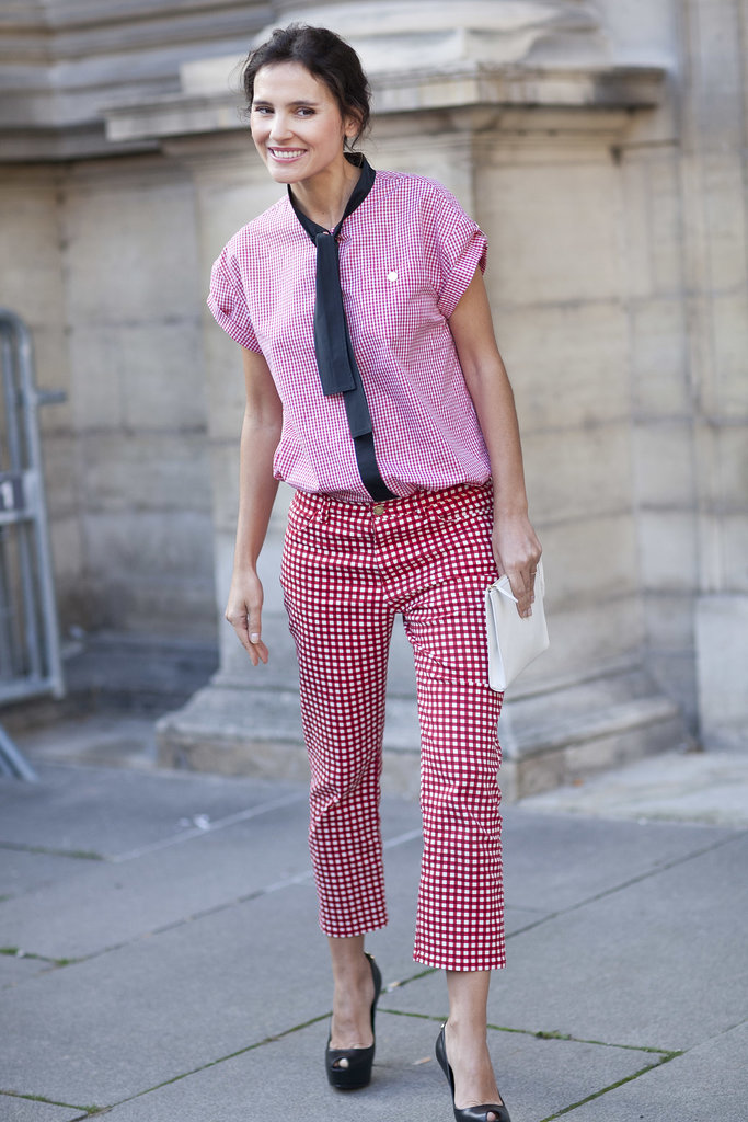 The surest way to make the menswear trend work for her? Doing it in shades of pink, of course.