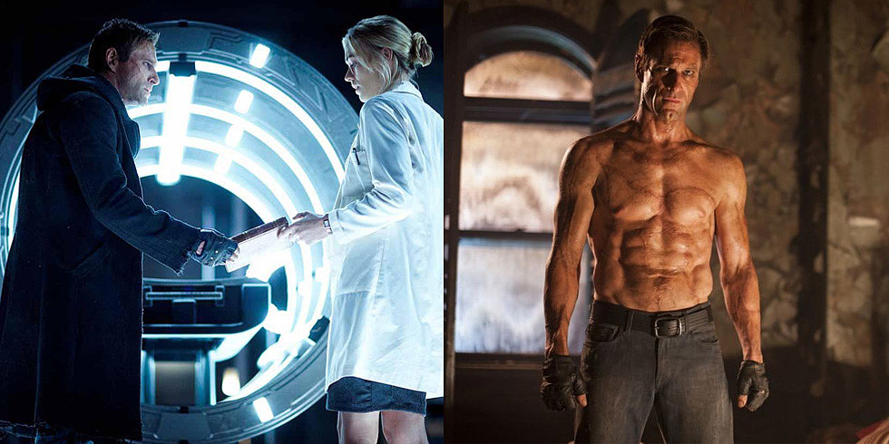 Aaron Eckhart Is a Dead-Sexy Monster in the I, Frankenstein Trailer