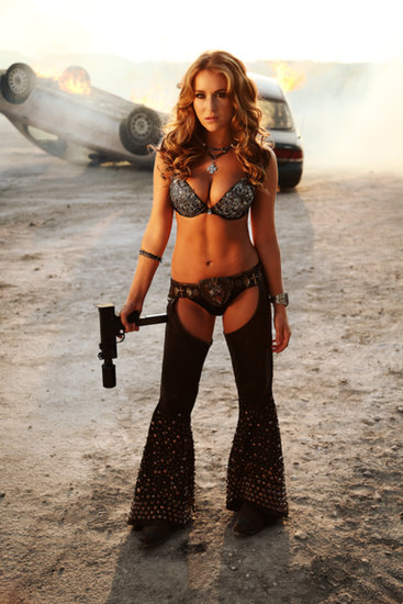 Alexa Vega in Machete Kills. Source: Open Road Films