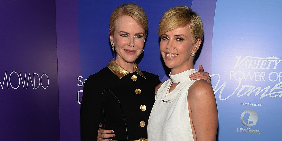 Charlize and Amy Celebrate Women, Paris Hilton Stops by, and Catching Fire Makeup on POPSUGAR Live!
