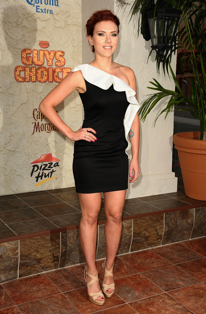 Scarlett Johansson at Spike TV's Guys Choice Awards, 2011