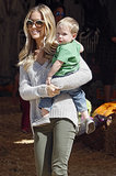 Kristin Cavallari and her son, Camden, went hunting for pumpkins on Saturday in LA.