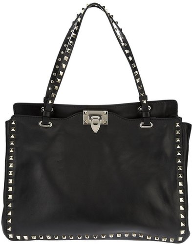 Valentino Garavani studded tote bag