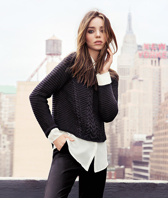 Miranda Kerr Takes Manhattan