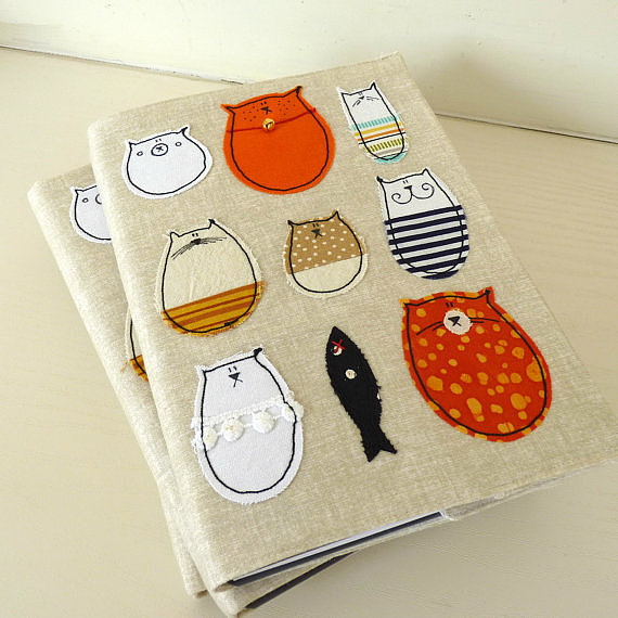 Colorful Kitty Notebook