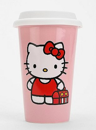 Hello Kitty To-Go Cup
