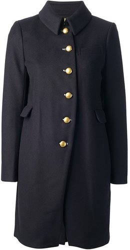 Marc By Marc Jacobs brass button coat