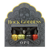 This year, OPI is celebrating Halloween with its Rock Goddess Mini Lacquer Set ($13). It comes with four bold shades that can be mixed and matched to create a custom look, and don't forget to finish it off with the skull bracelet.
