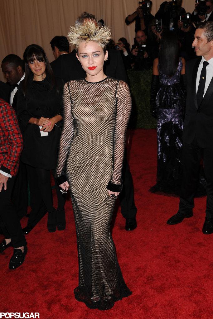 Met Gala Miley