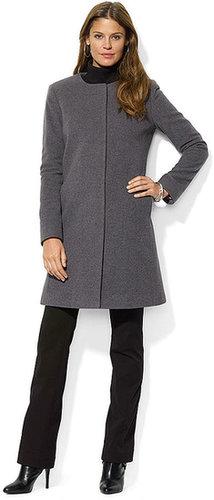 Lauren Ralph Lauren Coat, Cashmere-Blend
