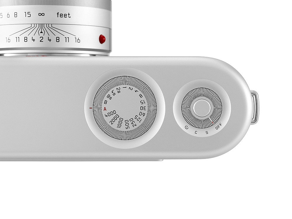 Leica M For (RED) — Dial Close-Up