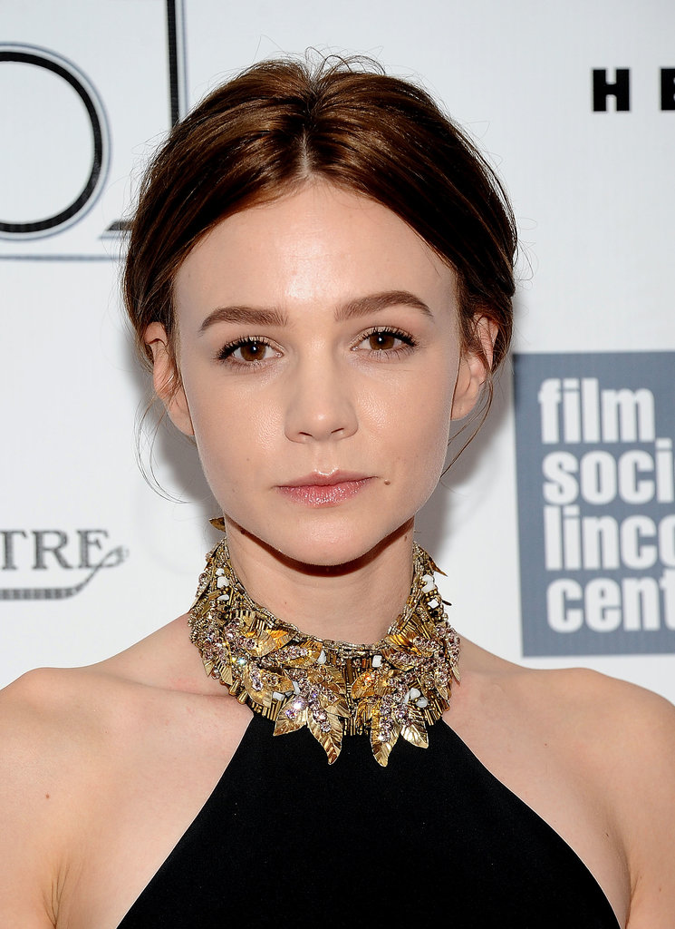 Carey Mulligan used the premiere of Inside Llewyn Davis to debut her new, brunette hair colour.