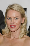 At the premiere of Captain Phillips, Naomi Watts opted for a classic red lip and curls combination.
