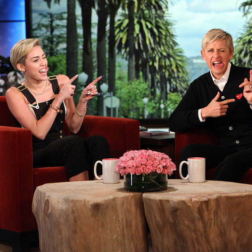Miley Cyrus Talks About Liam Hemsworth Split: The Ellen Show