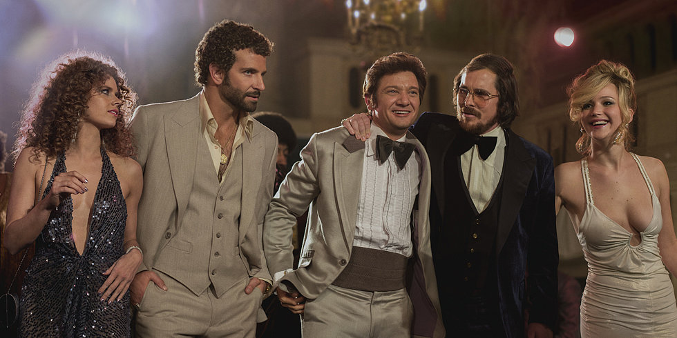 Amy Adams, Christian Bale, and Jennifer Lawrence Are in a Love Triangle in American Hustle
