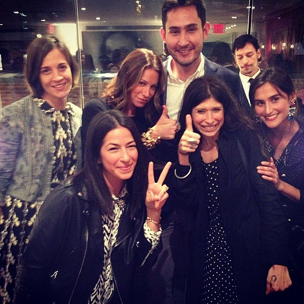 The CFDA got a chic group together in this accessory-designer-packed shot. Source: Instagram user jfisherjewelry