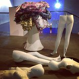 When Mary Katrantzou gets creative, things get a little wild. Source: Instagram user marykatrantzou