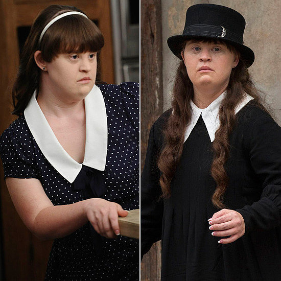 "Jamie Brewer Brewer's first role ever was Adelaide ""Addie"" Langdon, the troubled daughter of Jessica Lange's character, on the first season of American Horror Story. She returns on Coven as Nan, a witch with clairvoyant powers attending the boarding school."