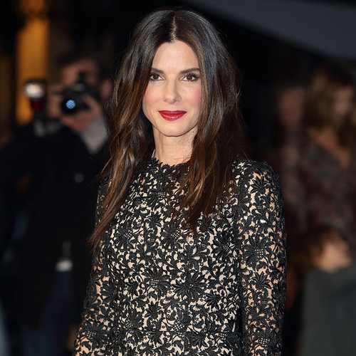 Sandra Bullock at Gravity Premiere at London Film Festival