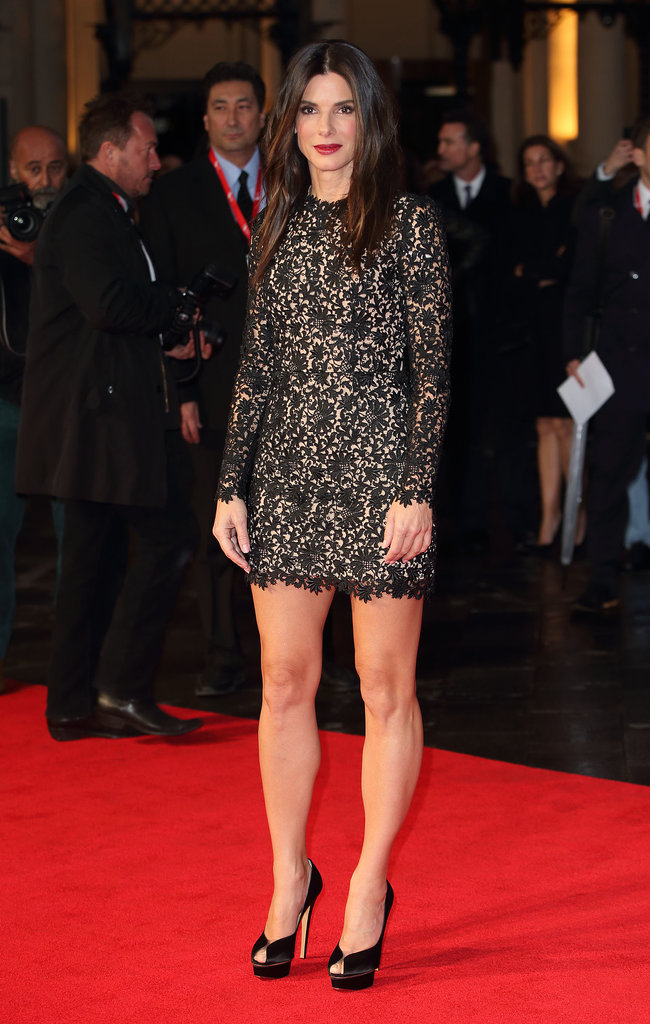 Sandra Bullock hit the red carpet at the London Film Festival.