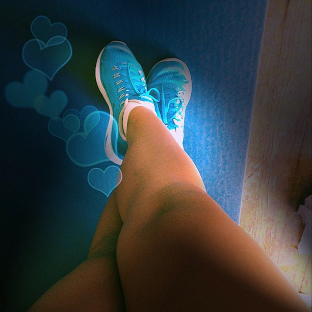 We're also big fans of Nike LunarGlides — great shoes for running! Source: Instagram user missfitriss