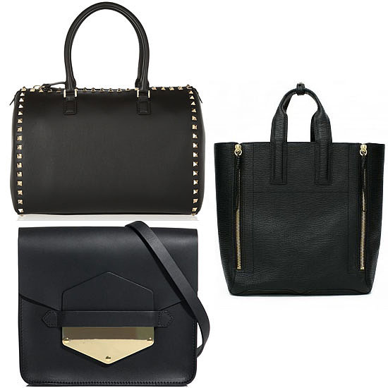 Back to Basics: 10 Chic Black Handbags