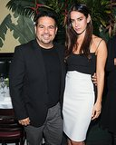 Narciso Rodriguez joined Ana Khouri at the dinner thrown in her honor by Barneys.