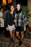 Isabel Marant feted the one-year anniversary of her LA shop with well-dressed guests including Liberty Ross.