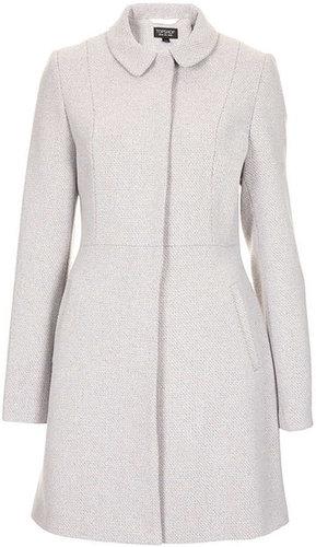 Textured Swing Coat