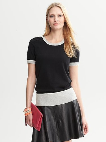 Issa Collection Colorblock Top