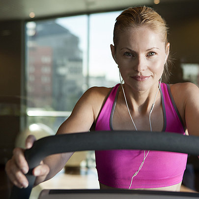 45-Minute Treadmill Pyramid Intervals