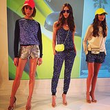 Juicy Couture delivered colorful brights for Spring 2014.