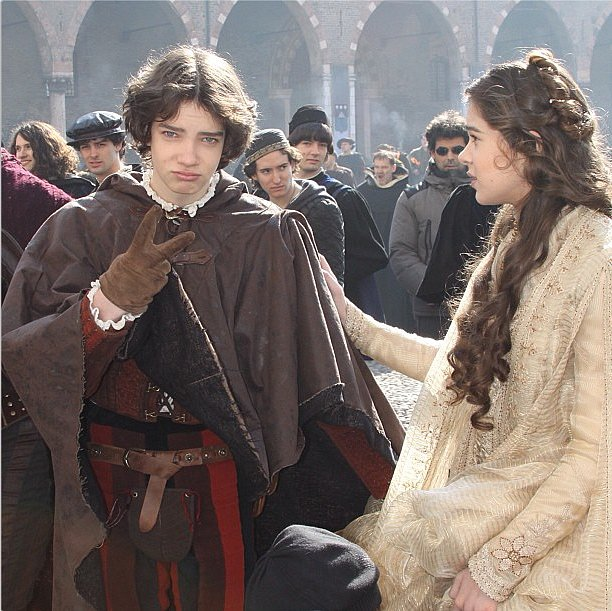 Hailee Steinfeld romanced us in her medieval garb on the set of Romeo & Juliet. Source: Instagram user haileesteinfeld
