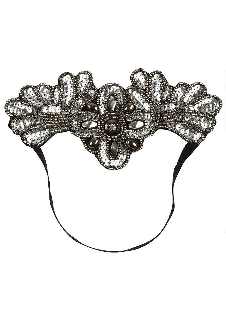 You'll definitely need a fancy headpiece, and we think this sparkly Delia's headband ($13) will do the trick.
