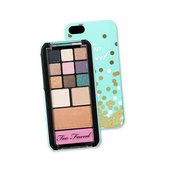 The latest innovation in beauty? Too Faced's makeup and phone case duo. Consider your holiday shopping list started.