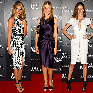 Celebrities Launch Royal Randwick Racecourse