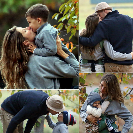 Tom and Gisele's Picture-Perfect Family Day Might Make Your Heart Explode