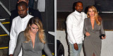 Kim Kardashian and Kanye West Arrive at the Opera by Black Lamborghini