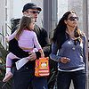 Matt Damon Carrying Daughter Stella Damon in LA | Pictures