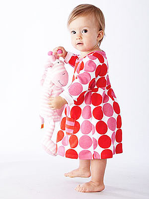 giggleBABY Dot Dress ($14)