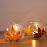 Leaf Votives
