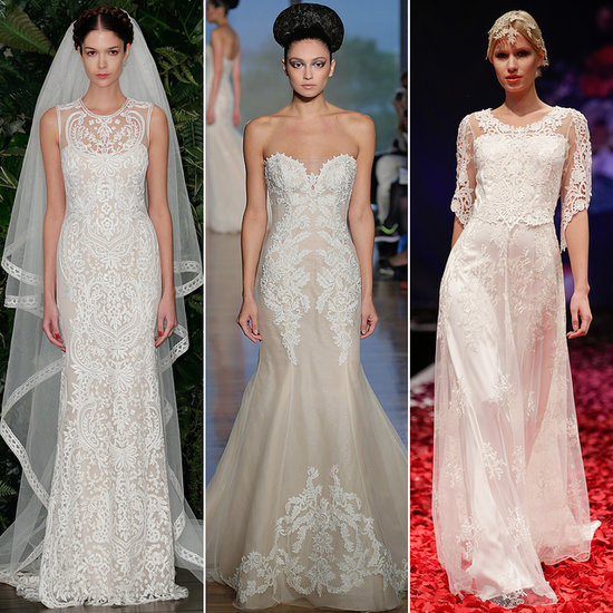Latest Trends For Wedding Dresses Fall 2014 Bridal Fashion Week Autumn