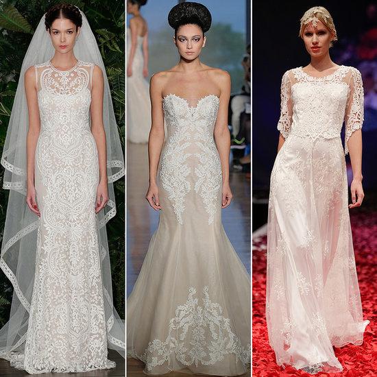 Latest Trends For Wedding Dresses Fall 2014 Bridal Fashion Week Autumn