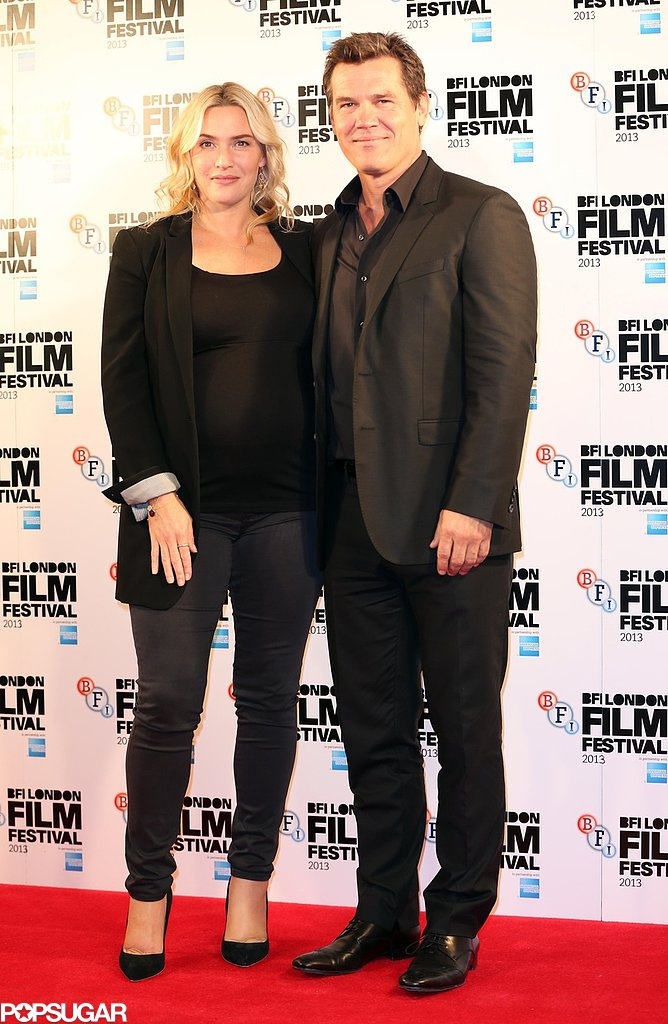 Kate Winslet attended a photocall for Labor Day in London with Josh Brolin.