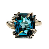 Alexis Bittar Fine Midnight Marquis Fancy Cut Ring ($1,295) Photo courtesy of Alexis Bittar