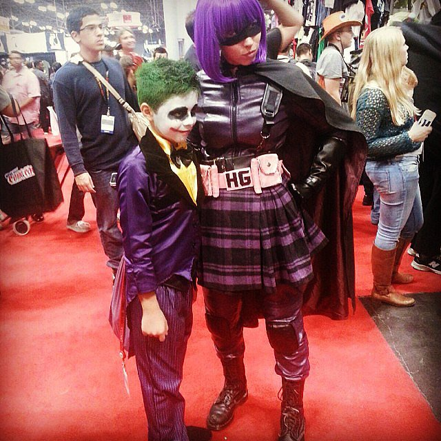 Joker and Hit-Girl