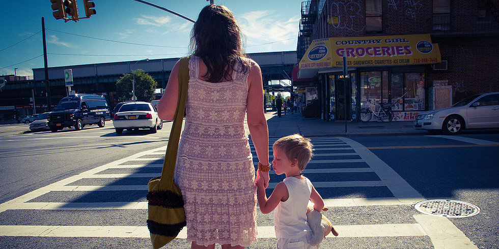 When Do You Let a Child Cross the Street Without Holding a Hand?